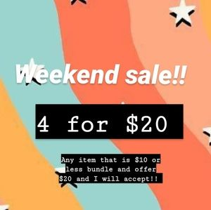 Everything must go sale!!